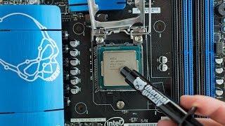 طريقة فتح اللابتوب و تغيير معجون المعالج لتخفيف حرارة و تسريع الكمبيوتر