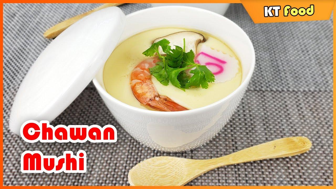 Cách Làm Trứng Hấp Nhật Bản Siêu Ngon Mềm Mịn Dễ Làm Ai Ăn Cũng Ghiền - Chawanmushi
