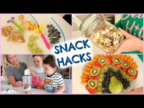 CUMBIA DE HOY - SNACK HACKS  |  SNACK IDEAS FOR KIDS  |  EMILY NORRIS