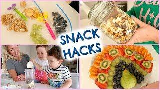 SNACK HACKS  |  SNACK IDEAS FOR KIDS  |  EMILY NORRIS