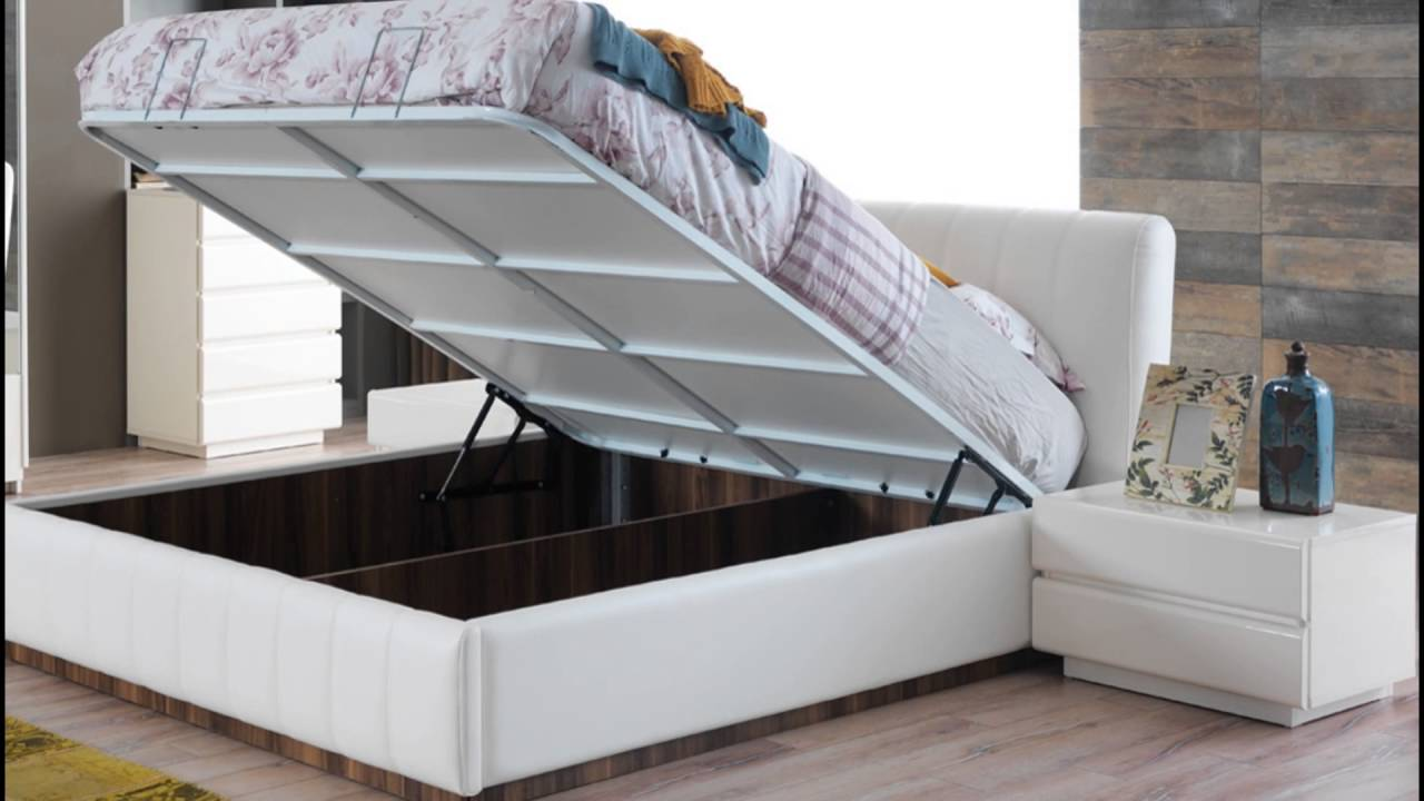 beds with storage underneath - YouTube