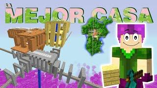 la mejor casa para survival en minecraft MunditoCRAFT