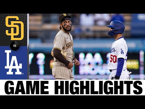 Padres vs. Dodgers Game Highlights (4/24/21) | MLB Highlights