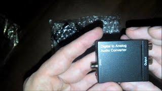 Посылки из Китая №№ 123 - 124 - Джеки 3,5 мм и конвертер цифрового аудио сигнала в аналоговый