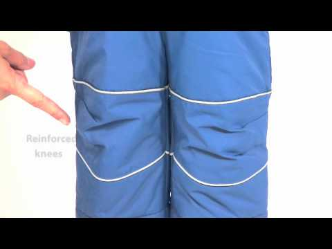 083a29697a16 Cozy Cub Kids Winter Snow Pants from One Step Ahead - YouTube