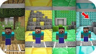 2 Noob Pasan De DimensiÓn Noob A DimensiÓn Pro 🌀😂 Mundos Ocultos - Minecraft Mapa Troll