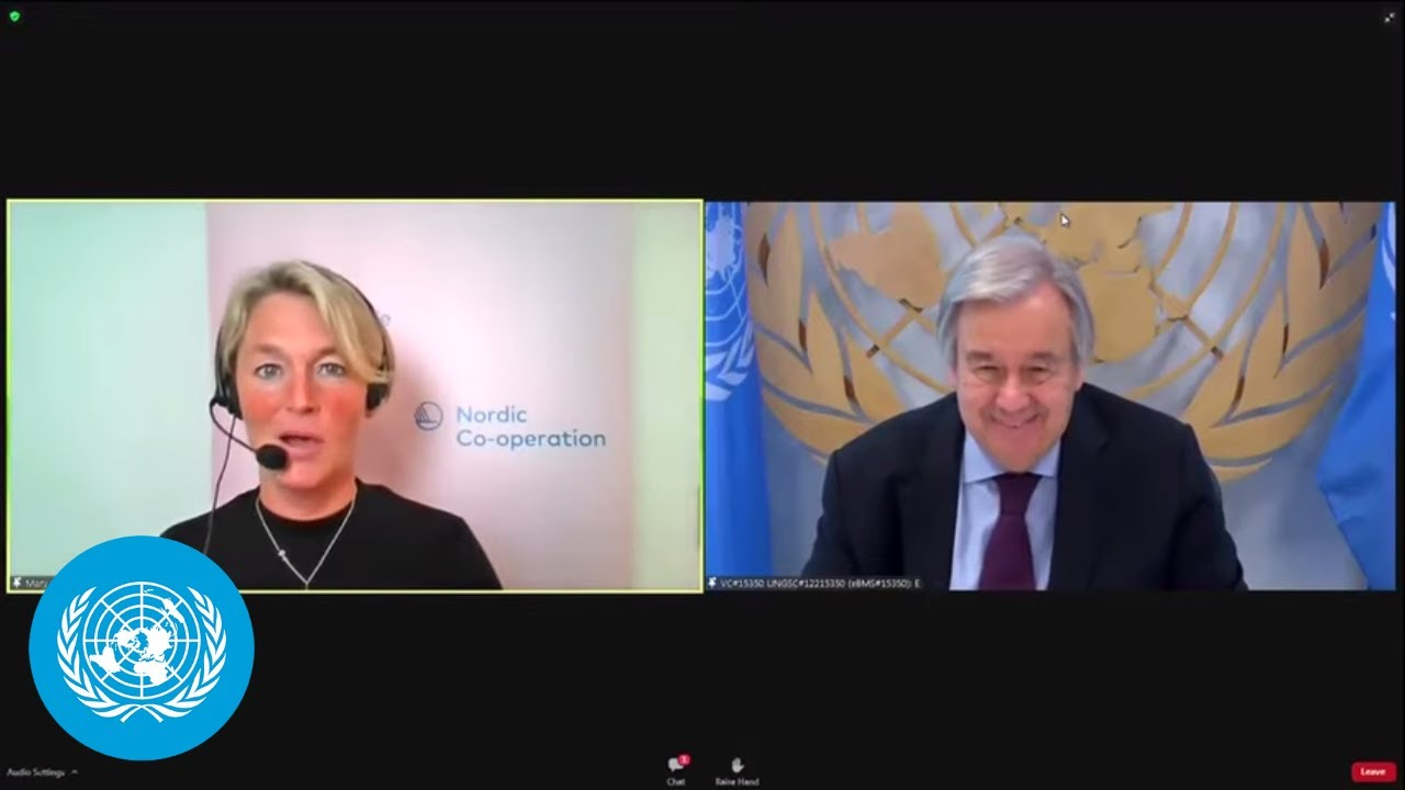 UN Chief Address to Nordic Council on COVID-19 (27 October 2020)