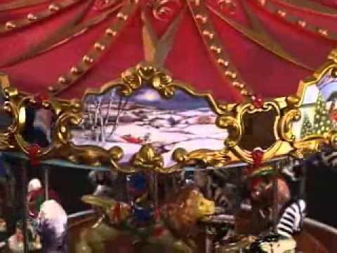 Mr Christmas Triple Decker Musical Carousel