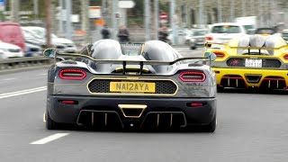 Supercars in Geneva March 2018, Koenigsegg COMBO!