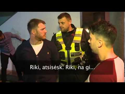 Seven Metropolitan Police officers arrested in Vilnius