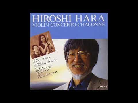 Hiroshi Hara【原博】  Violin solo Sonata(1958)