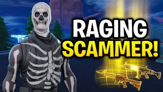 Wütende STUPID Scammer Betrügt sich selbst! (Scammer Get Scammed) Fortnite Save The World
