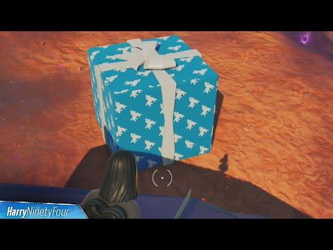 Throw Birthday Presents (Best Location) - Fortnite