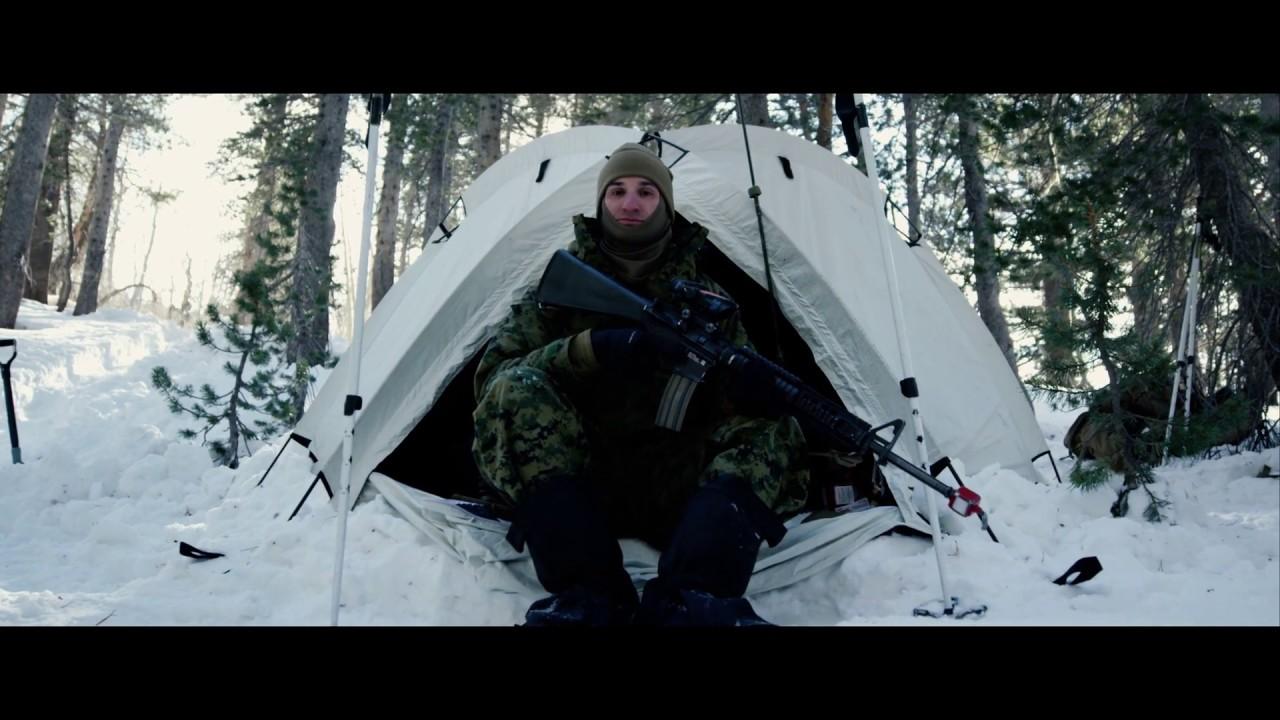 U.S. Marines & Sailors – Winter Internal Qualifications Course – Mountain Warfare Training Center