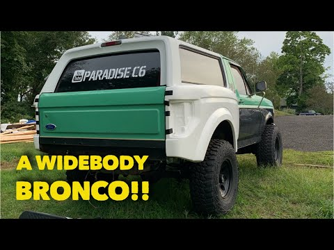 The Ford bronco raptor is coming together!