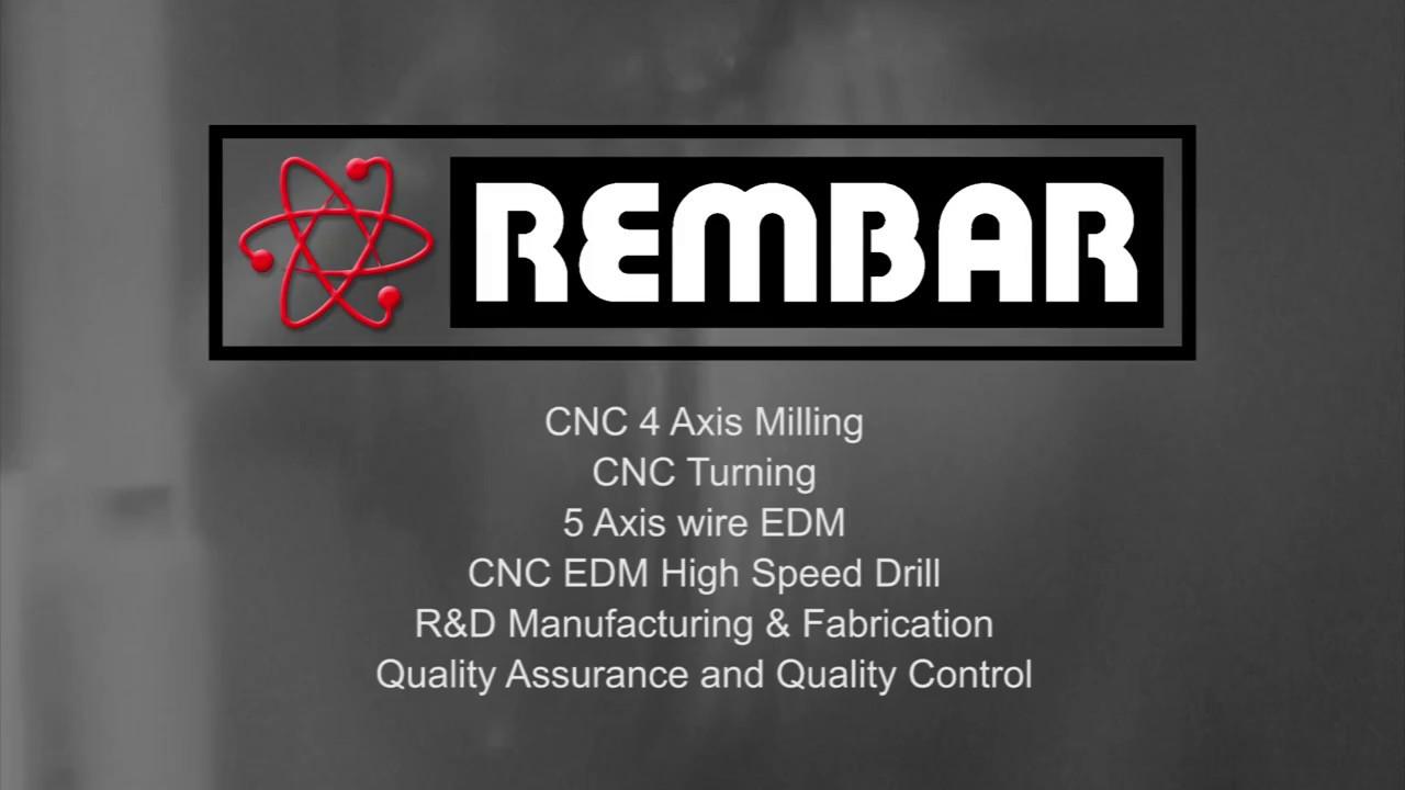 Rembar - Refractory Metal Machining & Fabrication - YouTube