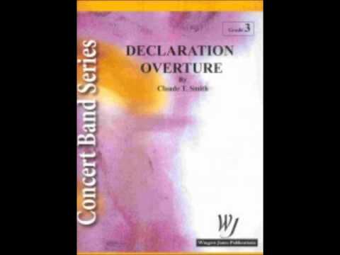 Declaration Overture by Claude T. Smith