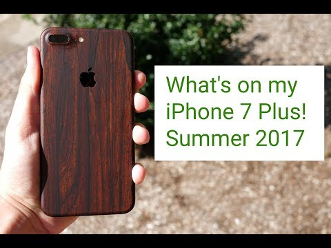 What's on my iPhone 7 Plus! Summer 2017