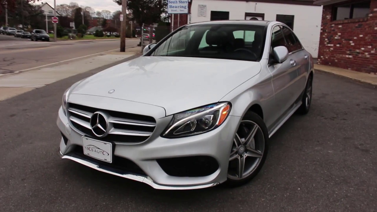 2015 mercedes benz c300 4matic review start up revs and walk around [ 1280 x 720 Pixel ]