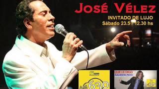 Jose Velez visito Que le digo..? en los estudios de Radio Rivadavia AM 630