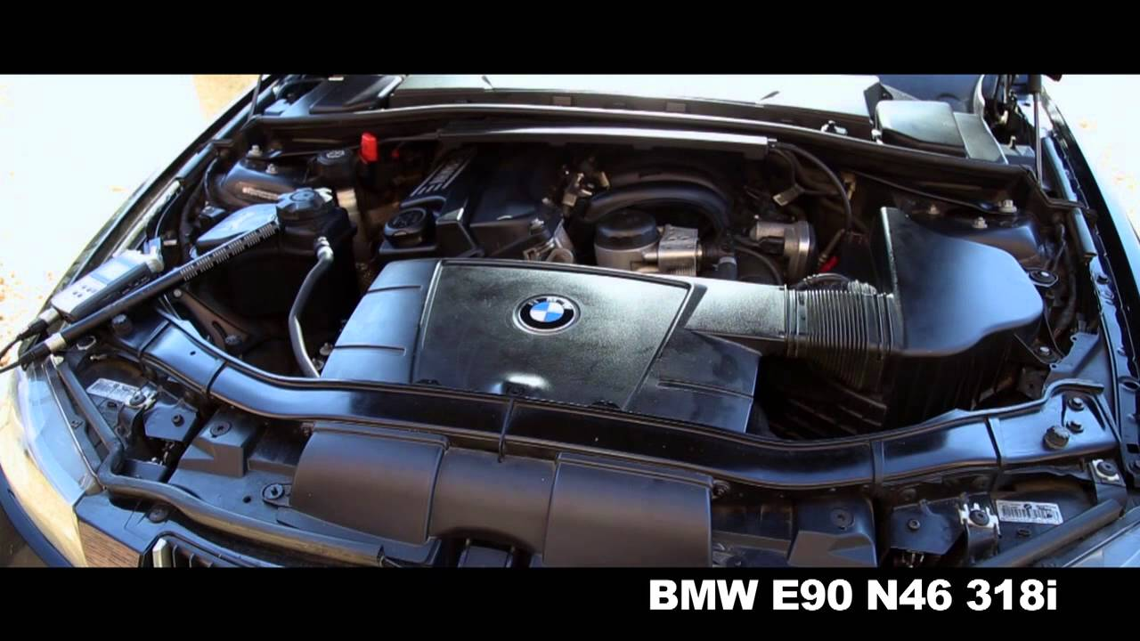 BMW E90 318i ENGINE SOUND - YouTube