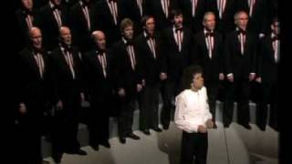 Treorchy Male Choir & Leo Sayer singing Sound Of Silence
