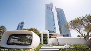 """دبي تفتتح أول مكتب """"مطبوع"""" في العالم"""