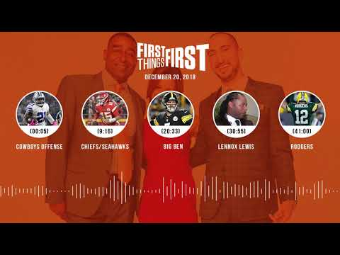 First Things First audio podcast(12.20.18)Cris Carter, Nick Wright, Jenna Wolfe   FIRST THINGS FIRST