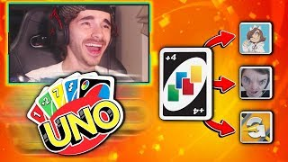 +4's FOR ALL! (UNO Funny Moments)