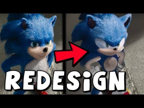 Sonic Movie Design To Be FIXED By Paramount Pictures!
