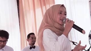 di dalam sebuah pernikahan Nisa Sabyan - Albi Nadak Amal Hijazi (cover sabyan)with lirik dideskripsi