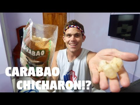 GOODBYE HALF FILIPINO FRIEND, HELLO GIANT BAG OF CARABAO CHICHARON! (Alone In The Philippines)