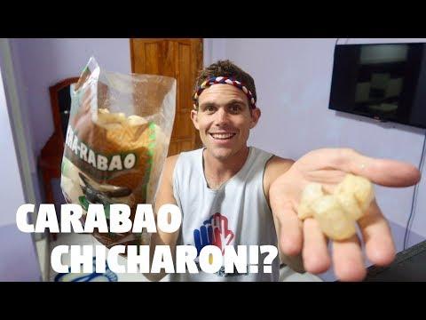 GOODBYE HALF FILIPINO FRIEND, HELLO GIANT BAG OF CARABAO CHICHARON! (Alone In The Philippines)