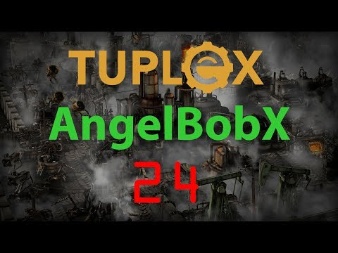 Factorio AngelBobX Let's Play #24 - Batteries, blue science - Most