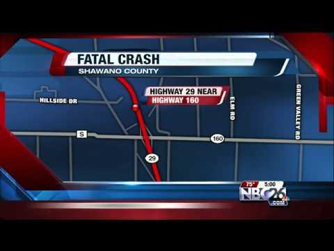 Fatal Hwy  29 Crash in Shawano County