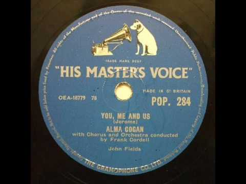 Alma Cogan - You Me And Us ( 1957 )