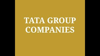 List of Companies Owned by TATA | Tata Group Ceo Chairman