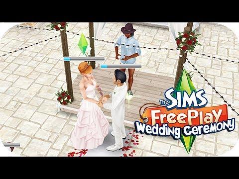 The Sims Freeplay   Wedding Ceremony!