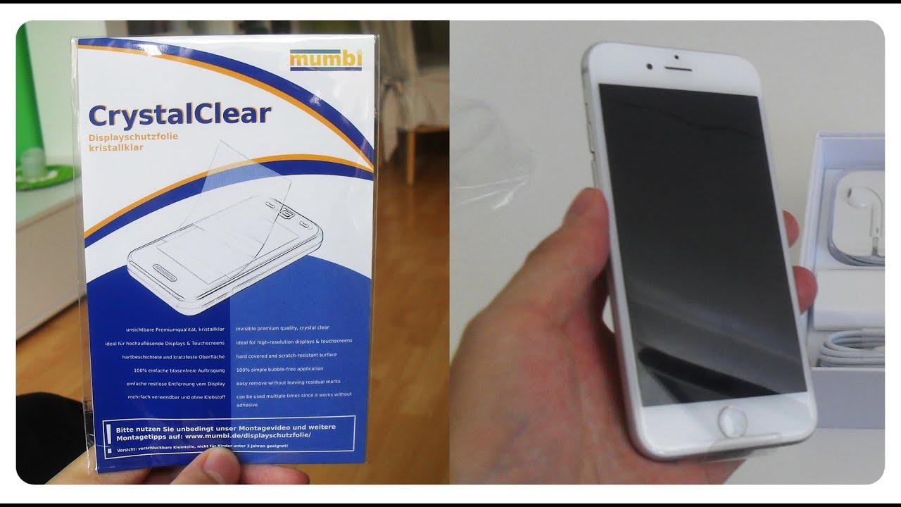 Iphone 6 6s Mumbi Crystalclear Folie Screen Protector Schutzfolie Teekaytech