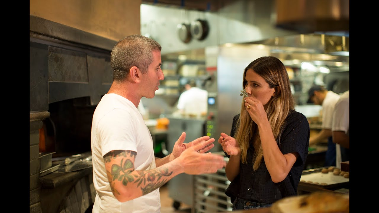Eden Eats NYC, with chef Mike Solomonov at Zahav
