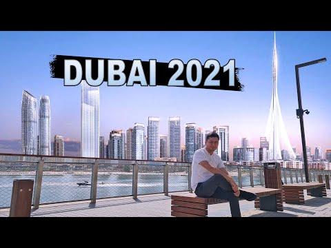 DUBAI 2021 Стоит ли ехать в ОАЭ? Почему улицы Дубая пусты, Blue Waters, Dubai Creek, City Walk