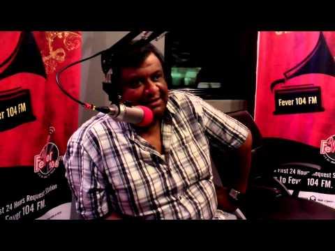 Kaushik Ganguly at Fever 104 Fm Studio - for Sunday spl show