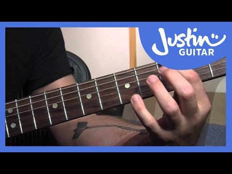 Blues Chord Extensions | JustinGuitar.com