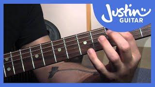 guitar chord extensions 9th and 13th chords blues rhythm guitar lessons bl 206