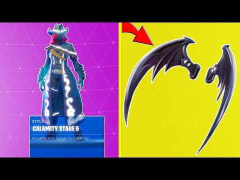 10 BEST BACKBLING COMBOS With FULLY UPGRADED CALAMITY! (Fortnite Battle Royale!)