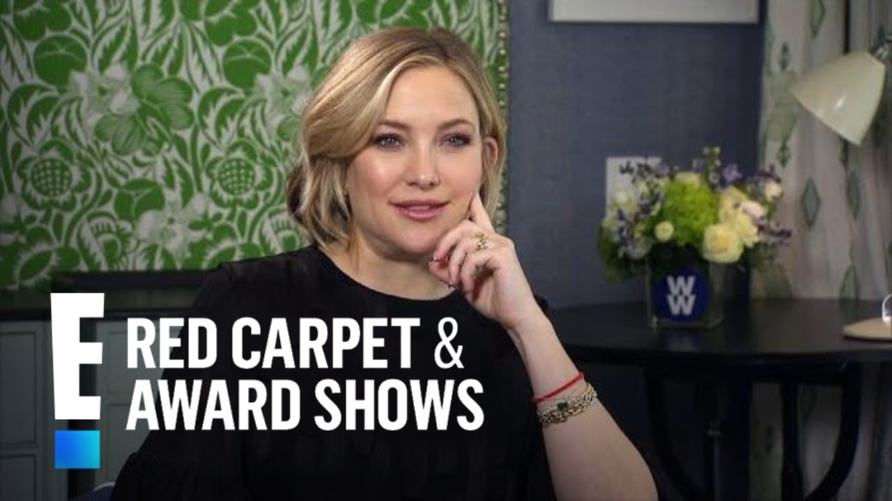 Kate Hudson Dishes on New Partnership With WW | E! Red Carpet & Award Shows