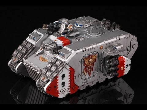 How to paint Grey Knights Land Raider | Warhammer 40k | Buypainted