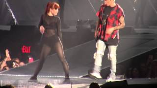 Download lagu Justin Bieber No Pressure LIVE PurposeTourDenver MP3
