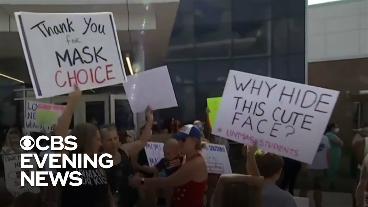 Georgia county divided over school mask policy