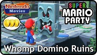Super Mario Party: Whomp Domino Ruins (2 players, 20 turns, Very Hard)